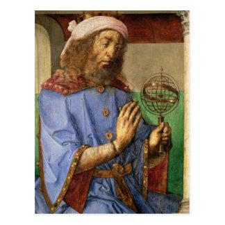 Portrait of Ptolemy c 1475 Post Card
