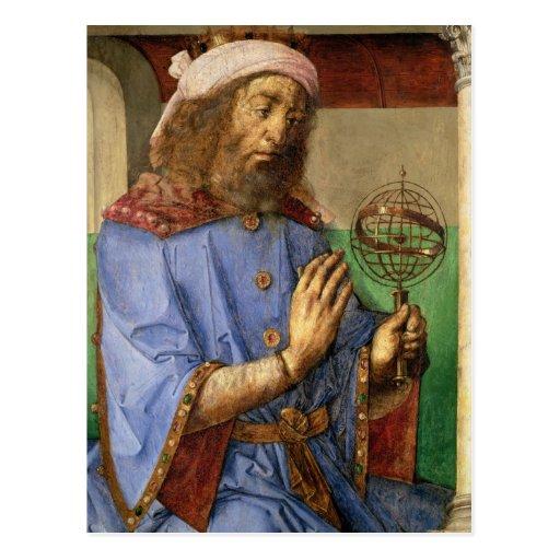 Portrait of Ptolemy, c.1475 Post Card