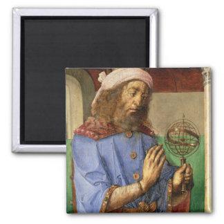 Portrait of Ptolemy, c.1475 Square Magnet