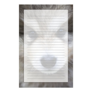 Portrait of puppy personalized stationery