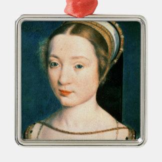 Portrait of Queen Claude Christmas Ornament