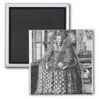 Portrait of Queen Elizabeth I Magnet