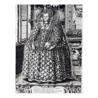 Portrait of Queen Elizabeth I Postcard
