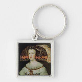 Portrait of Queen Maria Anna  of Spain Key Ring