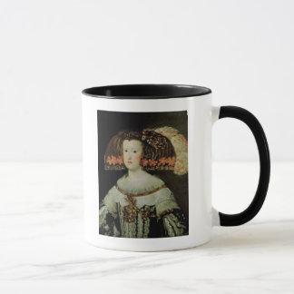 Portrait of Queen Maria Anna  of Spain Mug