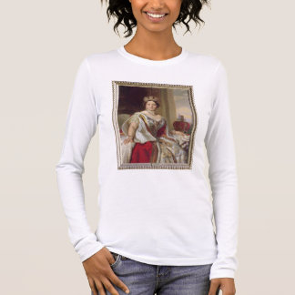 Portrait of Queen Victoria (1819-1901) 1859 (oil o Long Sleeve T-Shirt