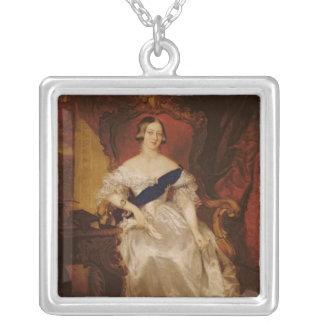 Portrait of Queen Victoria Necklace