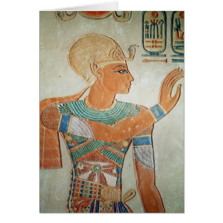 Portrait of Ramesses III  from Card