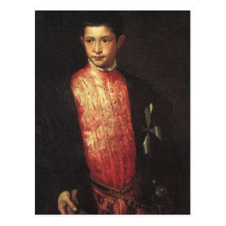Portrait of Ranuccio Farnese Postcard