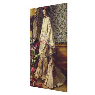 Portrait of Rapha, 1871 Canvas Print