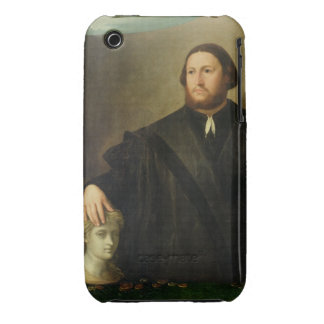 Portrait of Raphaele Grassi (oil on canvas) iPhone 3 Covers