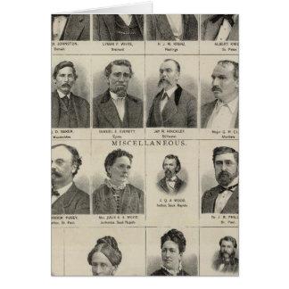 Portrait of Real Estate Dealers, Minnesota Card