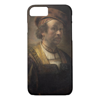 Portrait of Rembrandt, 1650 (oil on canvas) iPhone 8/7 Case