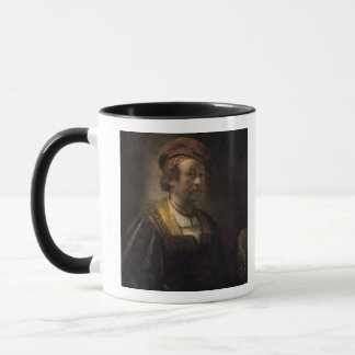 Portrait of Rembrandt, 1650 (oil on canvas) Mug