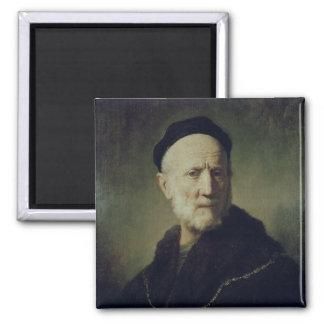 Portrait of Rembrandt's Father Magnet
