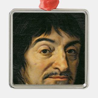 Portrait of Rene Descartes  c.1649 Christmas Ornament