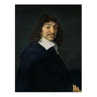 Portrait of Rene Descartes  c.1649 Postcard
