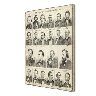 Portrait of Representatives, Minnesota Canvas Print