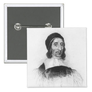 Portrait of Richard Baxter 15 Cm Square Badge