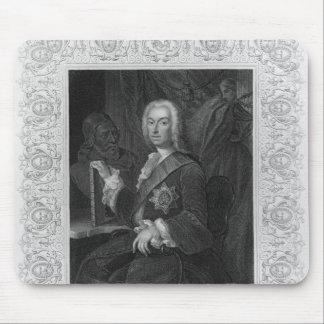 Portrait of Richard Boyle, Earl of Burlington Mouse Pad