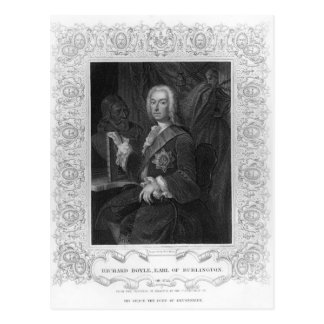 Portrait of Richard Boyle, Earl of Burlington Postcard
