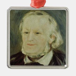 Portrait of Richard Wagner , 1893 Christmas Ornament