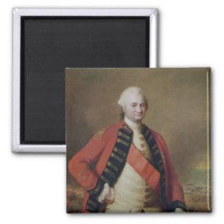 Portrait of Robert Clive  1st Baron Clive, 1773 Square Magnet