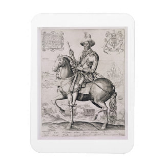 Portrait of Robert Devereux (1566-1601) 2nd Earl o Rectangular Photo Magnet