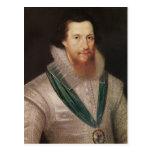 Portrait of Robert Devereux  c.1596 Postcards