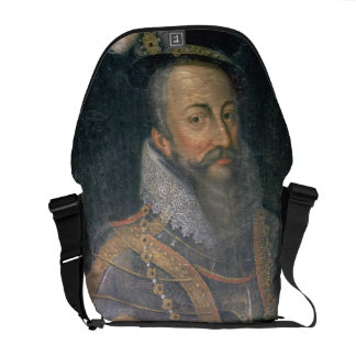 Portrait of Robert Dudley (1532-88) Earl of Leices Messenger Bag