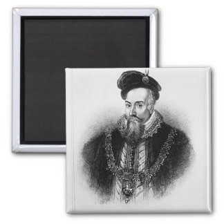 Portrait of Robert Dudley  1st Earl of Square Magnet