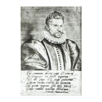 Portrait of Robert Garnier Canvas Print