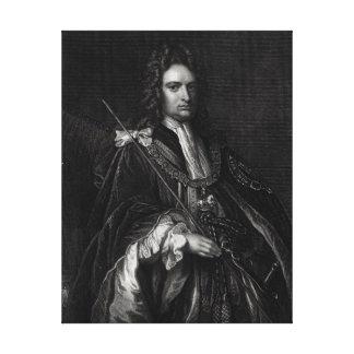 Portrait of Robert Harley Canvas Print