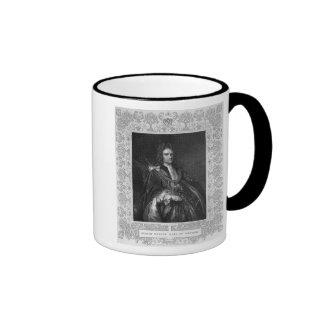 Portrait of Robert Harley, Earl of Oxford Ringer Mug