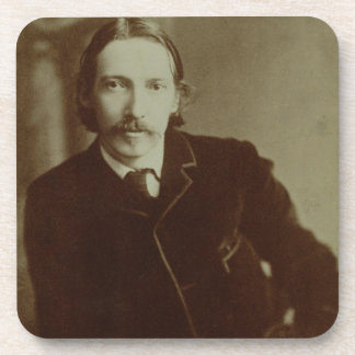 Portrait of Robert Louis Balfour Stevenson (1850-9 Drink Coaster