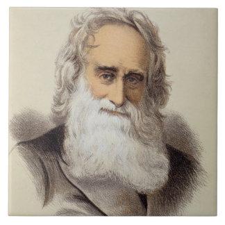 Portrait of Robert Moffat (1795-1883) (colour lith Tile