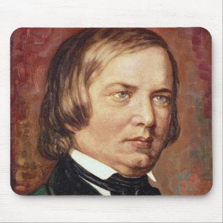 Portrait of Robert Schumann Mousepads