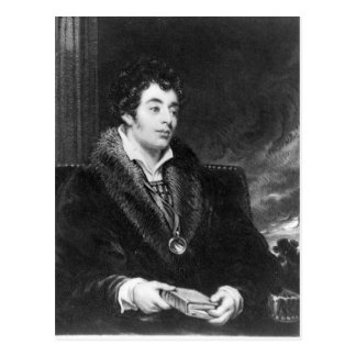 Portrait of Robert Southey Postcard
