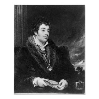 Portrait of Robert Southey Poster