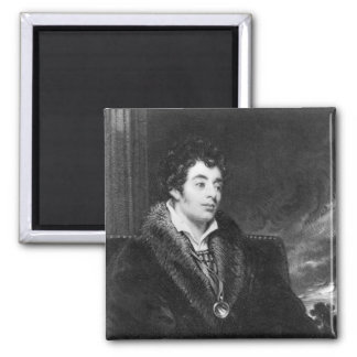 Portrait of Robert Southey Square Magnet