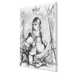 Portrait of Robert the Bruce Stretched Canvas Print