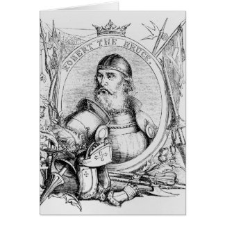 Portrait of Robert the Bruce Greeting Card