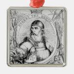 Portrait of Robert the Bruce Ornaments