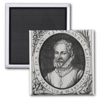 Portrait of Roland de Lassus Magnet