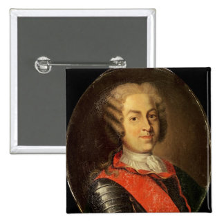 Portrait of Roland Michel Barrin 15 Cm Square Badge