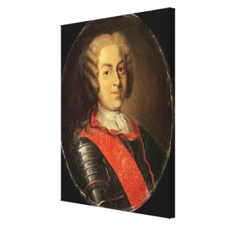 Portrait of Roland Michel Barrin Canvas Print