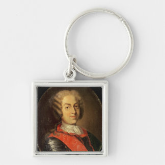 Portrait of Roland Michel Barrin Key Ring