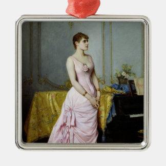 Portrait of Rose Caron  1886 Christmas Ornament