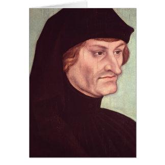 Portrait of Rudolf Agricola Card