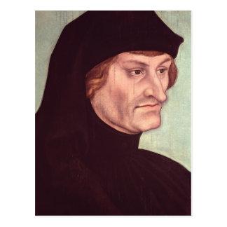 Portrait of Rudolf Agricola Postcard